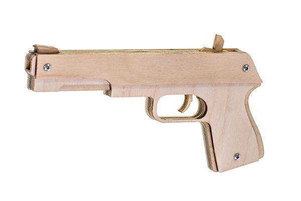 Резинкострел макаров пистолет ткани коломна старый город